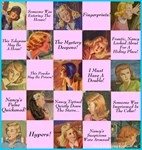 Nancy Drew: Pink Nancy Quotes Collage