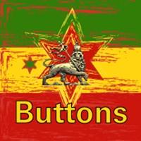 Rasta Button Pins