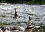 River Cairns