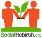 Social Rebirth Logo Text Apparel