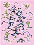 Kokopelli (Pink)