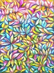 Colorful Pastel Leaves