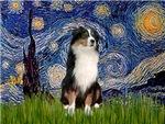 STARRY NIGHT<br>& Australian Shepherd #2