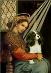 MADONNA OF THE CHAIR<br>& Cavalier King Charles