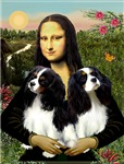 MONA LISA<br>(With 2 Tri Colored Cavaliers)
