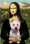 MONA LISA<br>& West Highland Terrier