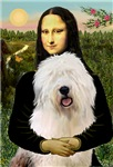 MONA LISA<br>& Old English Sheepdog