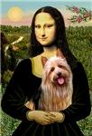 MONA LISA<br>& Australian Terrier