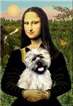 MONA LISA<br>& Wheaten Cairn Terrier