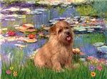 WATER LILIES<br>Norfolk Terrier