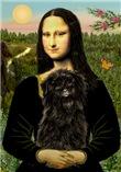Mona Lisa (new version)<br>& Affenpinscher