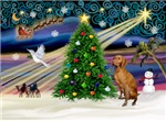 CHRISTMAS MAGIC<br>& Vizsla