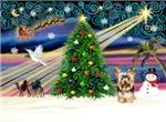 CHRISTMAS MAGIC<br>& Yorkshire Terrier #17