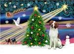 CHRISTMAS MAGIC<br>& Brittnany Spaniel