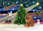 CHRISTMAS MAGIC<br>& Chow Chow