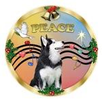 CHRISTMAS MUSIC #3<br>& Siberian Husky