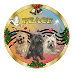 CHRISTMAS MUSIC #3<br>& 3 Cairn Terriers