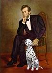 ABRAHAM LINCOLN<br>&Dalmatian #1