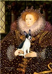 QUEEN ELIZABETH I<br>& Rat Terrier