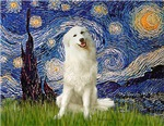 STARRY NIGHT<br>& Great Pyrenees