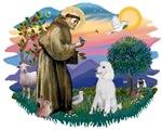 St. Francis #2<br>& Poodle (Std W)