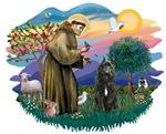 St. Francis #2 &<br> Bouvier Des Flandres