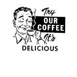 Vintage Coffee Tshirts and Retro Tees