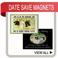 Personalized Save the Wedding Date Magnets