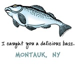 Delicious Bass Montauk T-shirts & Gifts