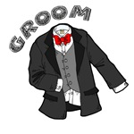 Tux for the Groom T-shirts & Wedding Gifts