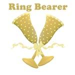 Golden Ring Bearer T-shirts Gifts