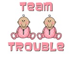 Twin Girls Onesies, Baby Gifts, Decor