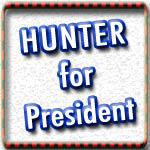 Duncan Hunter T-shirts, Buttons, Signs