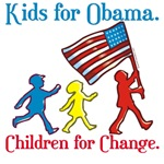 Kids for Obama T-shirts, Buttons & Mugs
