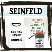 Seinfeld T-shirts, Seinfeld Quote Gear