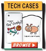 Vegan Message Technology Cases