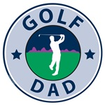 Golf Dad T-shirts and Gifts