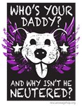 Who's Your Daddy Wings - Purple