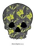 Plumeria Skull