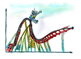 Hype Cycle Rollercoaster