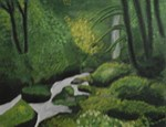 Green Forest Stream