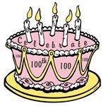 OYOOS 100th Cake design
