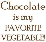 Chocolate is my favorite vegetable!