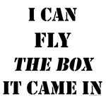 I can fly...