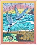Castle Rock Herons