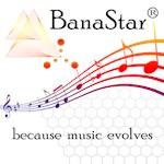 BanaStar® ...because music evolves (transparent) b