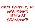 WHAT HAPPENS AT GRANDMAS STAYS AT GRANDMAS BABY CL