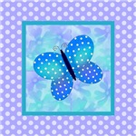 Spring Butterfly and Polkadots
