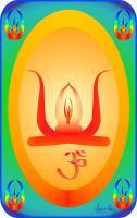 Om Aum Healing mandala