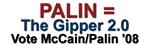 Palin = The Gipper 2.0